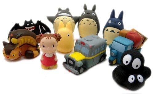 【真愛日本】10102700068   指套娃娃-小黑鬼  龍貓 TOTORO 豆豆龍  龍貓公車 日本帶回