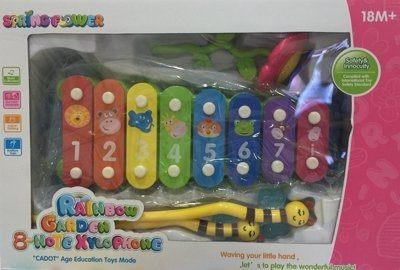 『121婦嬰用品館』豐力富 彩虹花園小鐵琴 0
