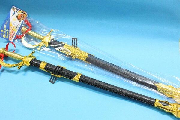 軍刀玩具 西洋劍電鍍玩具劍 玩具劍 道具劍 玩具刀(塑料)/一個入{促80}