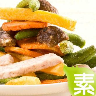 水根肉乾 綜合蔬果