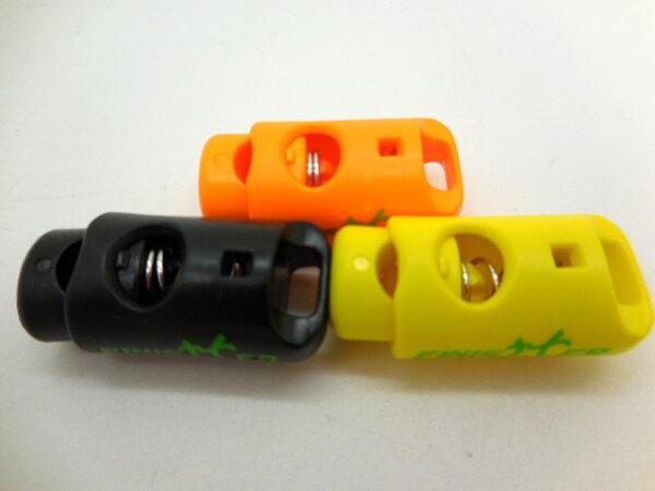 FINISHER 號碼布腰帶繩上固定扣乙個 (黑,黃,橘三色任選一)