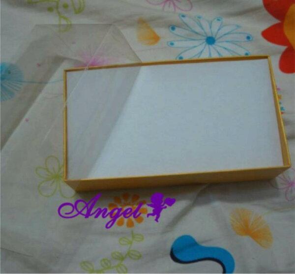 天使嫁衣【H130】黃色實拍小長型飾品包裝盒-現貨特價出清