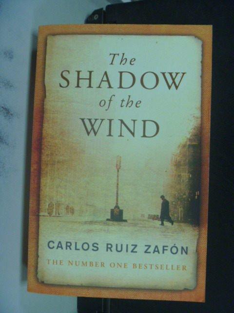 ~書寶 書T8/原文小說_KNM~Shadow of the Wind_Zafon ~