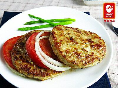 《魔術食品》雞肉漢堡排(80g×10片/包)(G0331)
