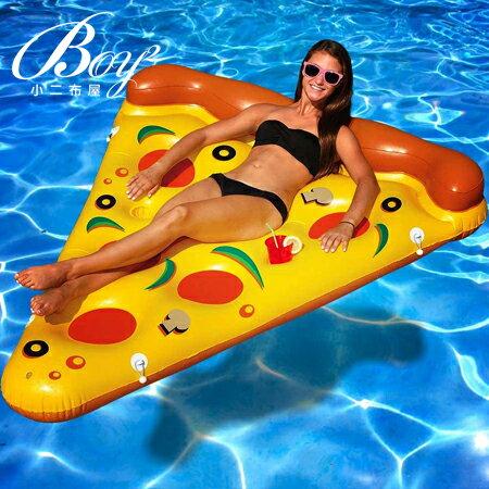 ☆BOY-2☆【NQYJ004】披薩造型水上浮床(附贈手動打氣筒) - 限時優惠好康折扣