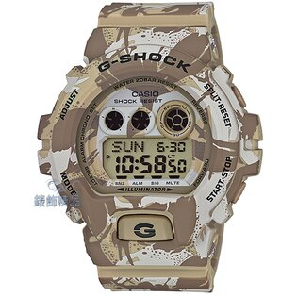【錶飾精品】現貨CASIO卡西歐G-SHOCK大地棕迷彩GD-X6900MC-5DR全新原廠正品 生日情人節 聖誕禮物