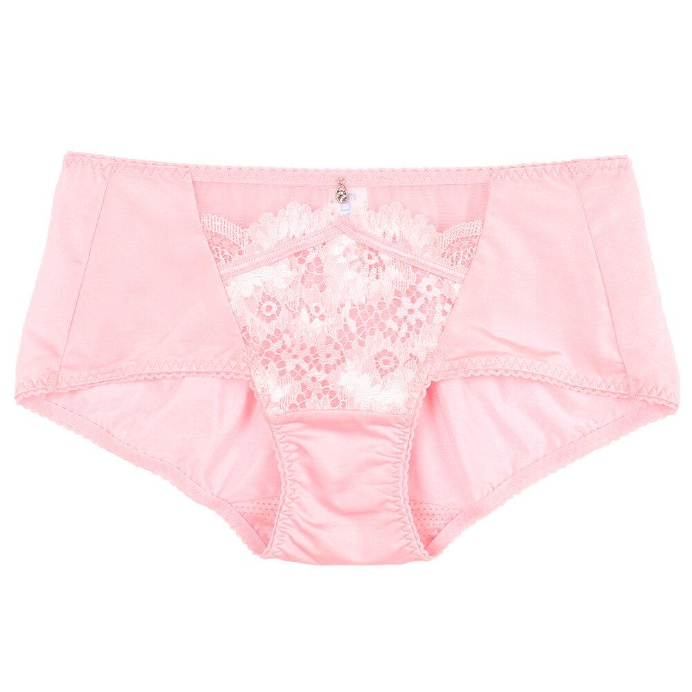 【Favori】冰絲 花語冰沁平口褲 (珍珠粉) 0