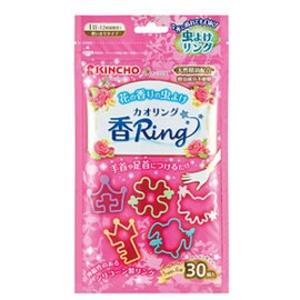 『121婦嬰用品館』日本金鳥 多造型驅蚊蟲環(30入) - 花香 0