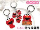 日光城。ELMO鐵片鑰匙圈,3款芝麻街掛飾鐵環可愛禮物禮贈品吊飾生日交換禮物