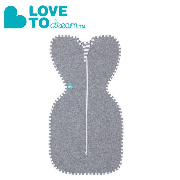 『121婦嬰用品館』澳洲 Love To Dream SWADDLE UP專利蝶型包巾 包覆款 - 灰(M) - 限時優惠好康折扣