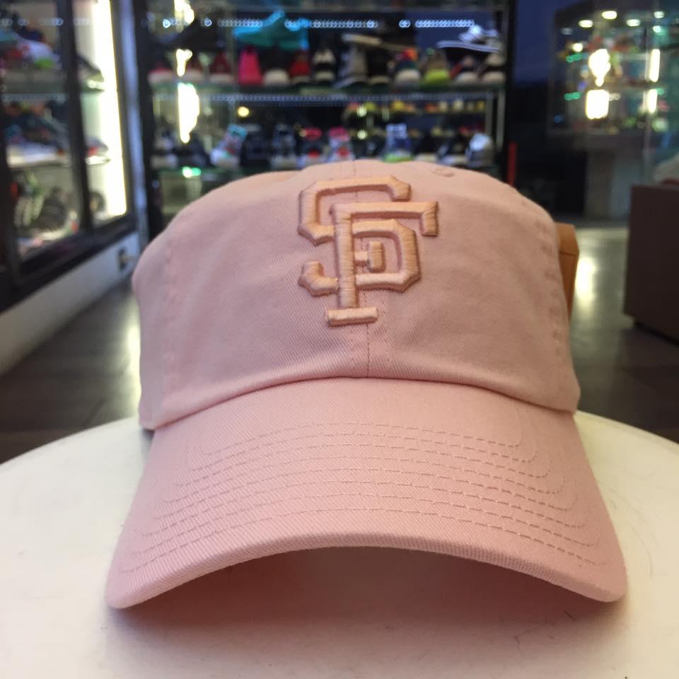 BEETLE AMERICA NEEDLE 老帽 舊金山巨人 SAN FRANCISCO GIANT DAD 大聯盟 粉 MN-381 0