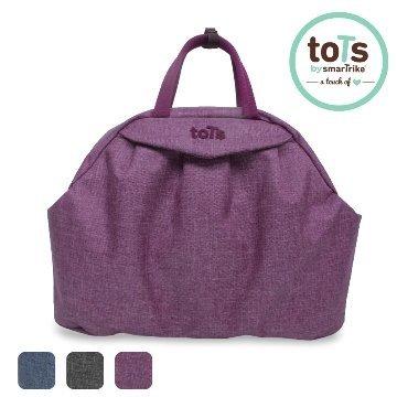 英國【SmarTrike-Tots】時尚模特5in1防潑水育兒包(高貴紫) - 限時優惠好康折扣