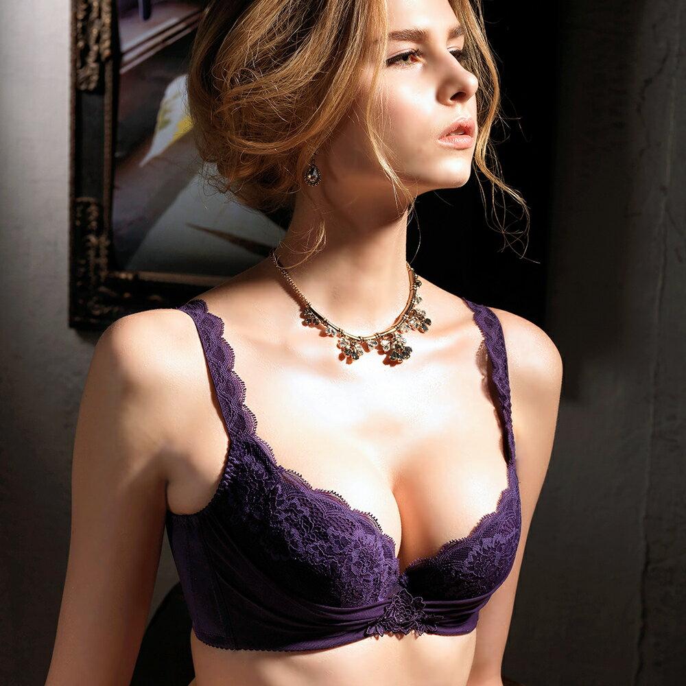 【Favori】魔力 美塑系列E罩杯內衣 (葡萄紫) 1