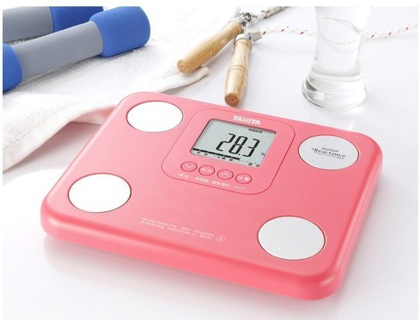 新上市~TANITA體脂肪計BC751(7合1)(粉紅色),獨家贈送元氣敲敲棒