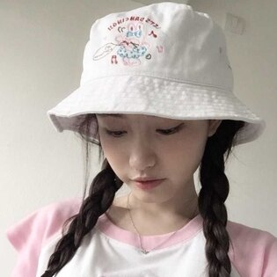 韓版嘻哈牛仔小刷破漁夫帽