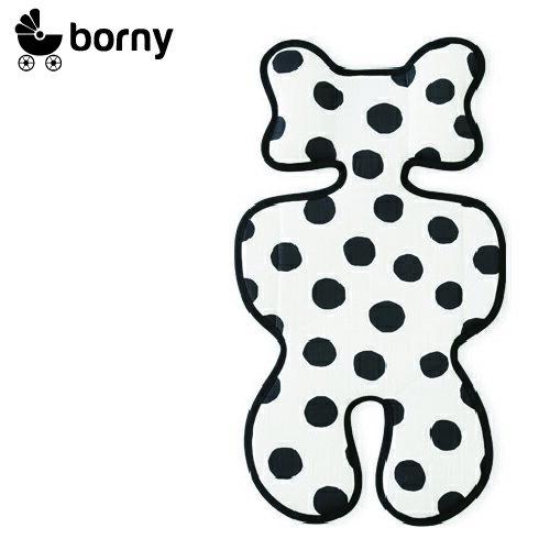 韓國【 Borny 】3D 立體推車涼墊(推車、汽座適用)  (大麥町) - 限時優惠好康折扣