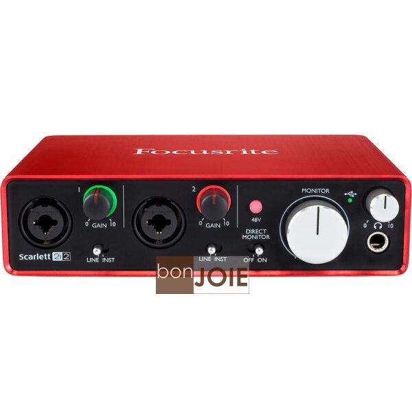::bonJOIE:: 美國進口 第二代 Focusrite Scarlett 2i2 (2nd Gen) USB 錄音介面 (全新盒裝) 2in/2out Audio Interface 錄音盒 錄音卡