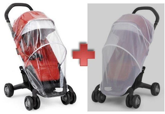 NUNA - Pepp Luxx推車專用蚊帳+雨篷