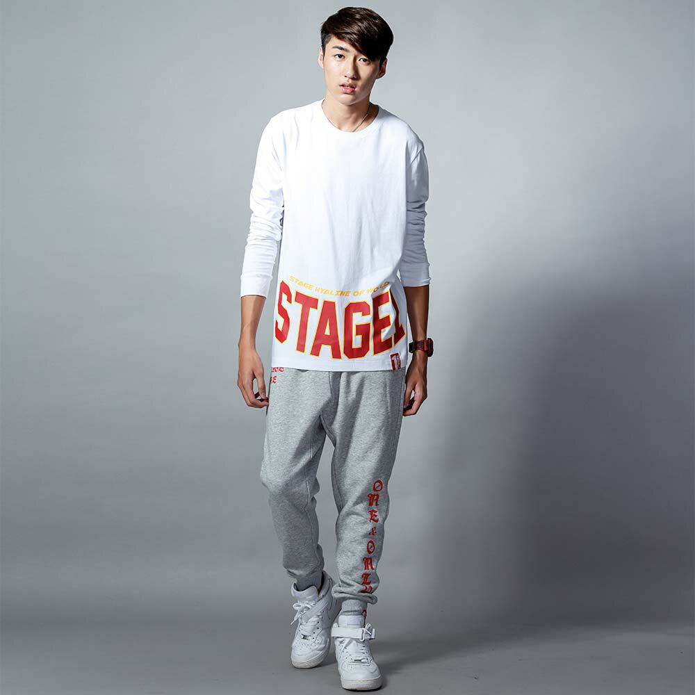 STAGEONE ONE SOUL SWEATPANTS 黑色 / 麻灰色 兩色 0