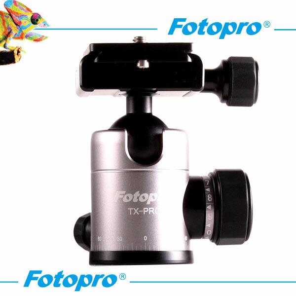 【普羅相機】TX-PRO 專業球型雲台 (鈦色)
