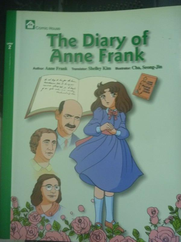~書寶 書T2/少年童書_ZBU~The Diary of Anne Frank_Anne