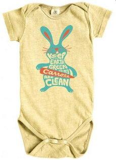 美國 Earth Creations有機棉麻連身衣-黃兔子/B3appliances