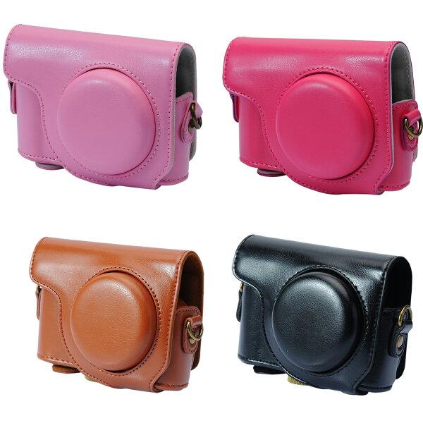 【和信嘉】CASIO ZR3600 ZR3500 可拆式相機皮套 (粉/桃/棕/黑) Kamera ZR 3600 3500 復古相機包