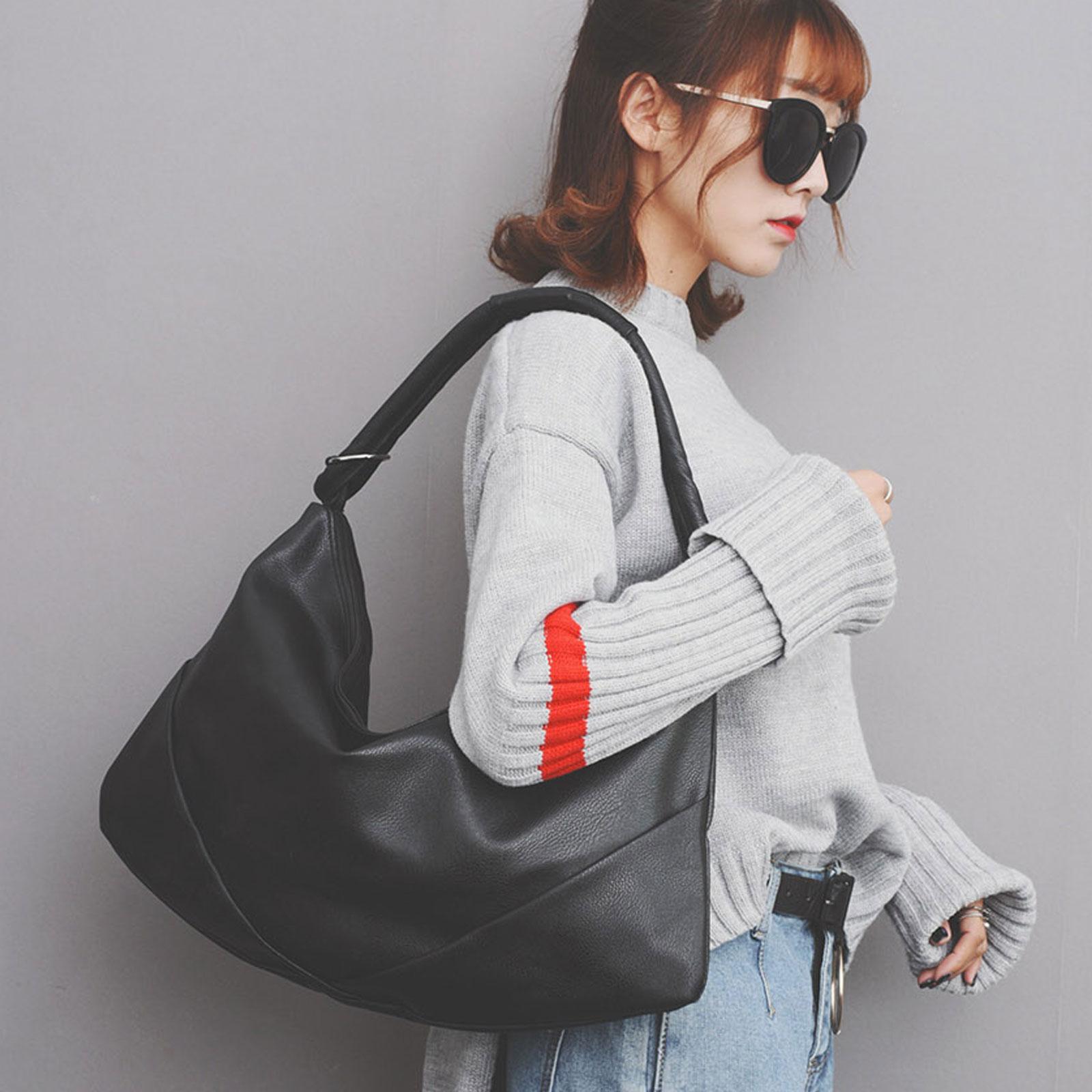 手提包 韓國時尚皮革水餃包肩背包【O3226】☆雙兒網☆ 1
