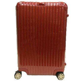 【淘氣寳寳】【型號830.73.53.4】RIMOWA Salsa Salsa Deluxe Red 30吋 中大型四輪旅行箱 (台灣公司貨/全球保固五年/品質保證)