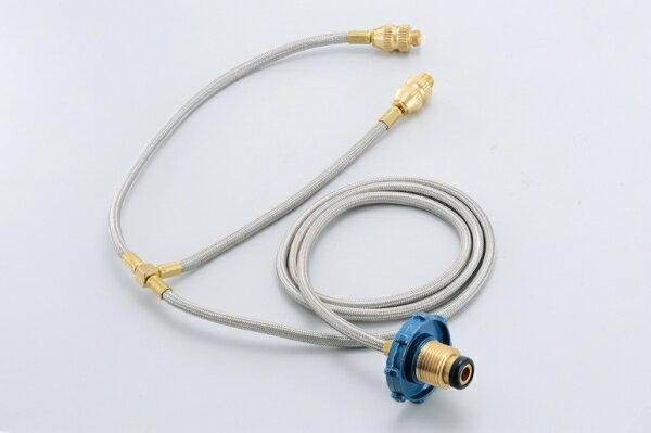 【大山野營】文樑 一對二 瓦斯桶雙孔轉接頭 ST-2003 桶裝瓦斯轉接器 高山爐 快速爐 飛碟爐 蜘蛛爐