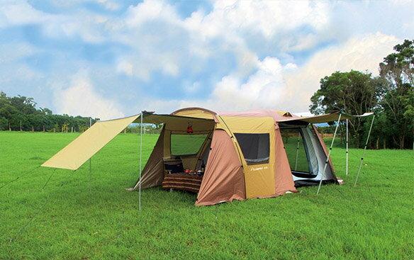 野樂全適能氣候帳,四門可全開,四邊都有大型延伸屋簷 ARC-642 野樂 Camping Ace 0