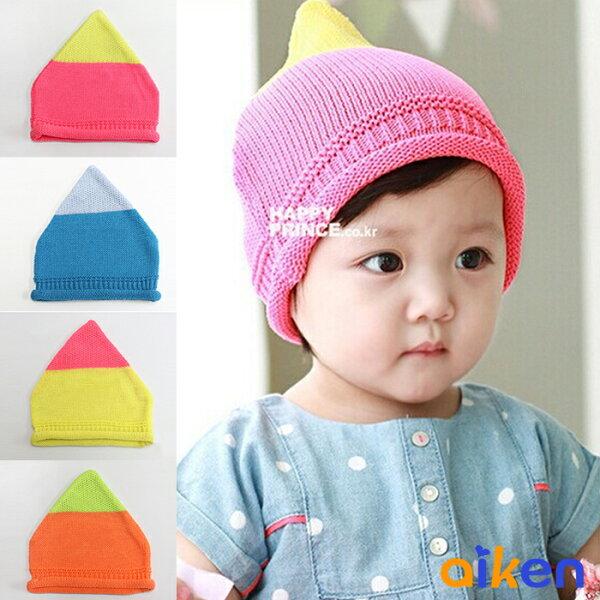【艾肯居家生活館】兒童帽 嬰兒帽 兒童雙色毛帽 針織 保暖 毛帽 (綜合下單區) -J1910-003