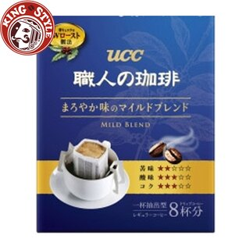 金時代書香咖啡【UCC】職人柔和綜合便利沖(8P)