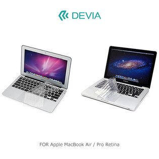 【愛瘋潮】DEVIA Apple MacBook Air 13 / Pro Retina 13/15 鍵盤保護膜