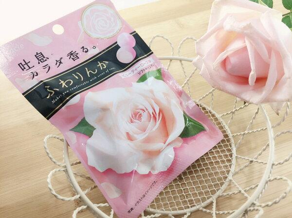 【13本舖】Kracie 玫瑰花香軟糖
