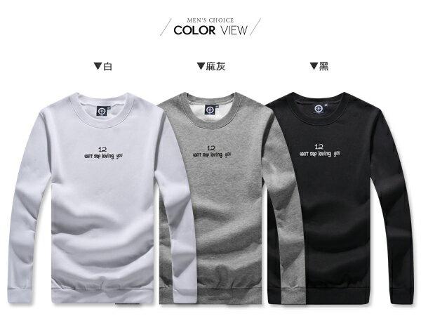 ☆BOY-2☆ 【KK6852】韓版簡約字母長袖T恤 1