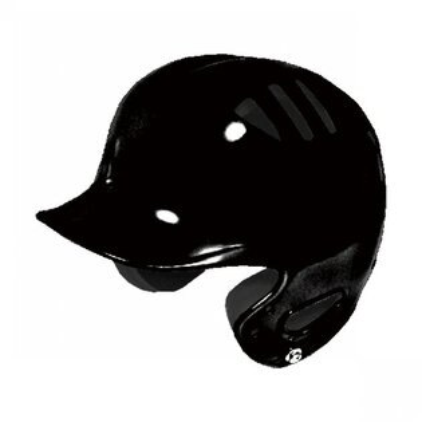 棒球世界 BRETT 高級調整式打擊頭盔 亮黑色
