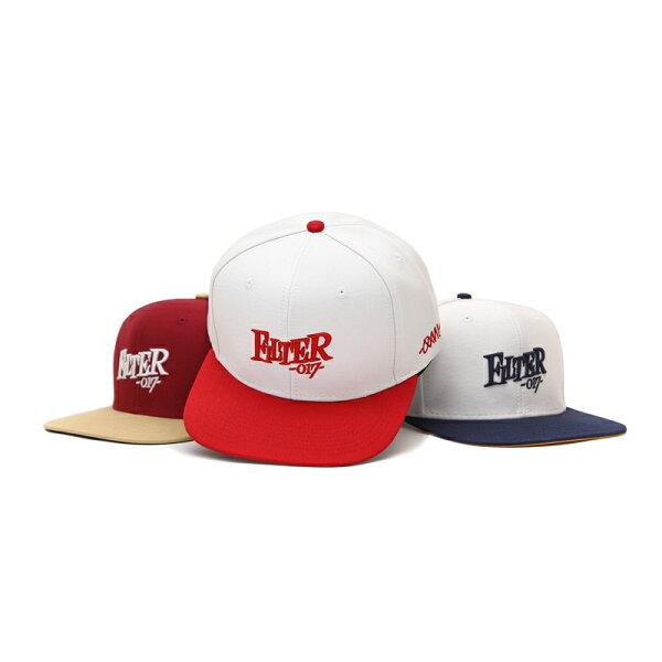 ►法西歐_桃園◄ Filter017 Snapback Cap Fable Font 電繡 Logo 英文字 撞色 棒球帽