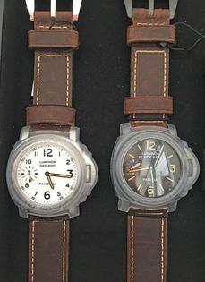 <心斎橋musee >PANERAI LUMINOR 8DAYS SpecialEdition SET PAM00785(PAM00594&PAM00602) NEW 新商品