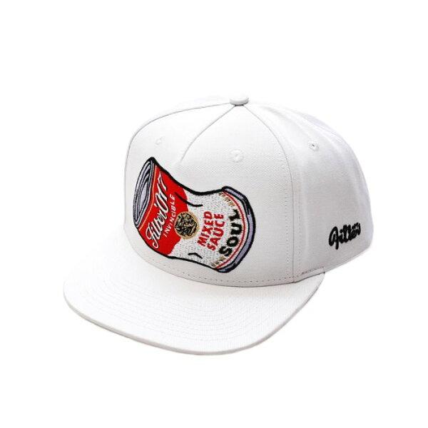 ►法西歐_桃園◄ Filter017 Snapback Soup Can 湯罐 翻玩 罐頭 白 黃 藍 棒球帽 工作帽 白色