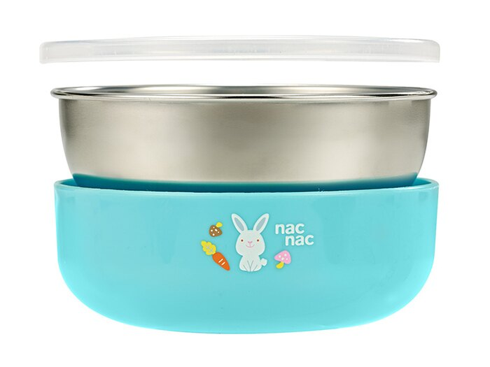 nac nac - 不銹鋼雙層隔熱大餐碗 1