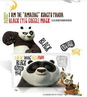 DreamWorks x Oliveyoung 聯名 夢工廠 功夫熊貓眼面膜 11g