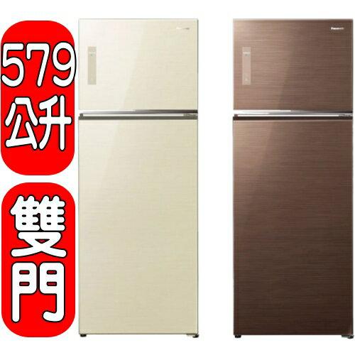 《結帳打95折》Panasonic國際牌【NR-B585TV-N/NR-B585TV-HL】雙門冰箱