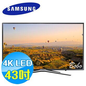 SAMSUNG三星 43吋 FHD 4K 平面液晶電視 UA43K5500AWXZW 內建 Wi-Fi 無線網卡