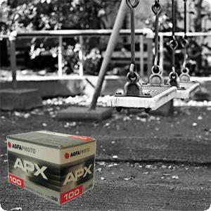 『樂魔派』AGFA APX 135MM 100度 黑白負片 底片 軟片 日本LOMO指定底片 對比強烈 另售 VISTA 200 400