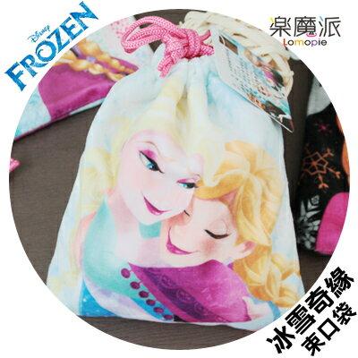 『樂魔派』正版授權 迪士尼 冰雪奇緣 拍立得相機收納包束口袋 ELSA ANNA FROZEN