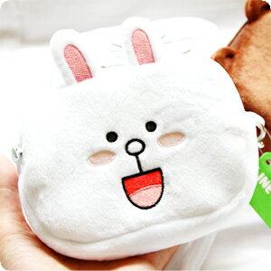 『樂魔派』LINE正版授權 方形拉鍊收納包 化妝包鉛筆盒筆袋 熊大兔兔饅頭人