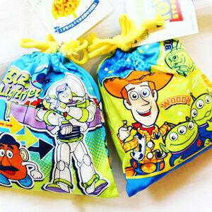 『樂魔派』日本進口 迪士尼 皮克斯 怪獸電力公司 玩具總動員 毛怪 大眼仔 束口袋 不附零食 萬用收納袋