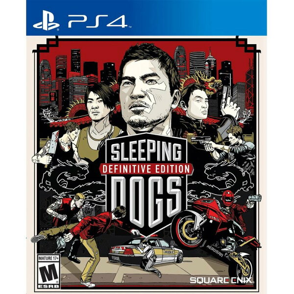 PS4 睡犬 決定版 英文美版 Sleeping Dogs 香港秘密警察