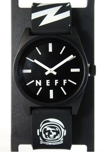 BEETLE NEFF DAILY WILD WATCH 特別款 太空人 骷髏 閃電 黑白 指針錶 手錶 圓錶 防潑水 0
